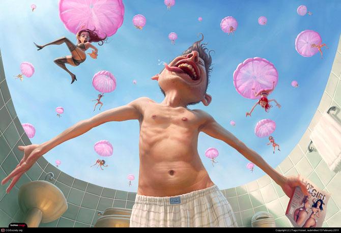 Cu zambetul pe buze, personajele digitale ale lui Tiago Hoisel - Poza 5