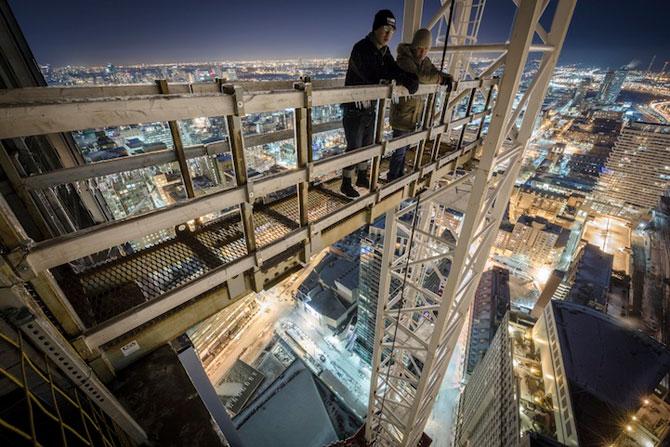 Toronto inghetat, vazut de pe zgarie-nori - Poza 3