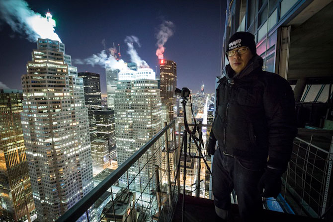 Toronto inghetat, vazut de pe zgarie-nori - Poza 4