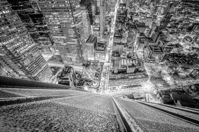 Toronto inghetat, vazut de pe zgarie-nori - Poza 5