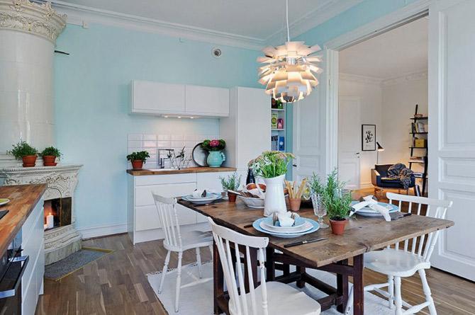 Apartament vintage si modern in Suedia, la pret de Bucuresti - Poza 8