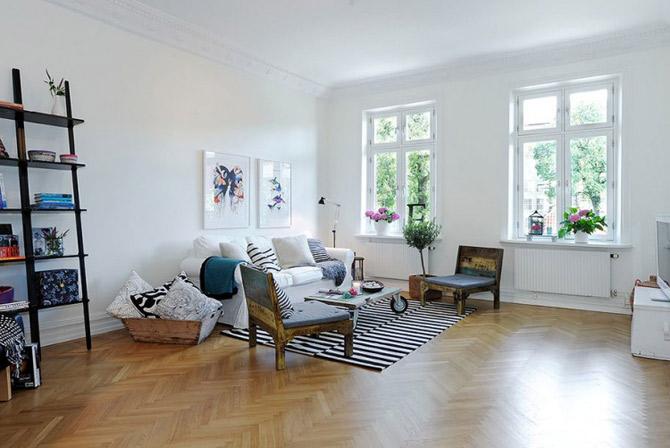 Apartament vintage si modern in Suedia, la pret de Bucuresti - Poza 9