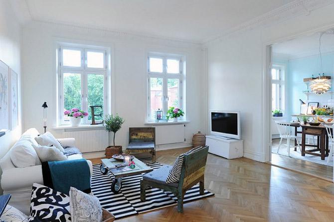 Apartament vintage si modern in Suedia, la pret de Bucuresti - Poza 10