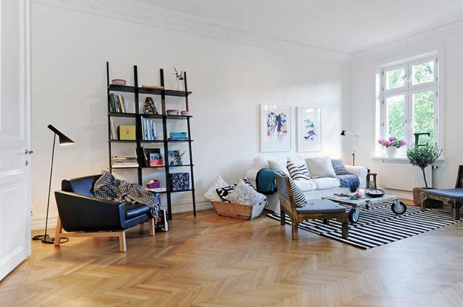 Apartament vintage si modern in Suedia, la pret de Bucuresti - Poza 11