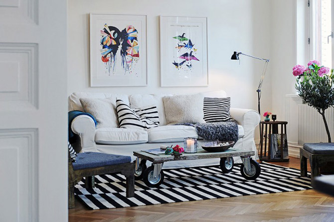 Apartament vintage si modern in Suedia, la pret de Bucuresti - Poza 12