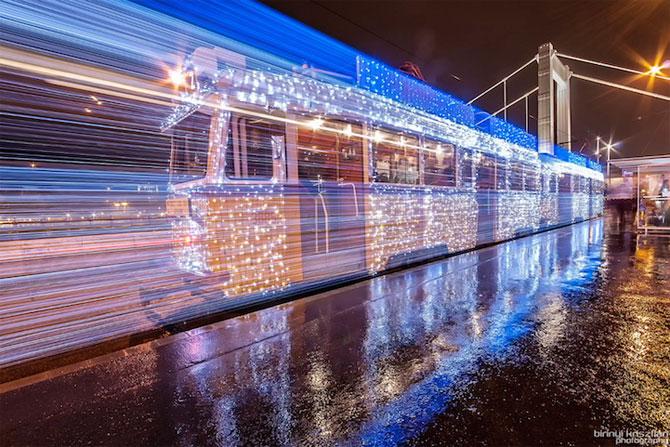 Superbele trenuri cu LED-uri de la Budapesta - Poza 3