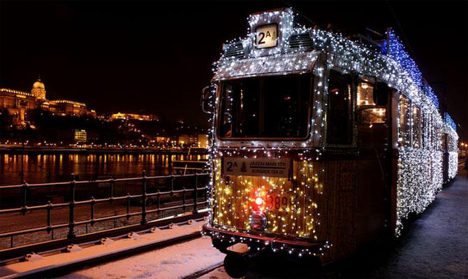 Superbele trenuri cu LED-uri de la Budapesta - Poza 5