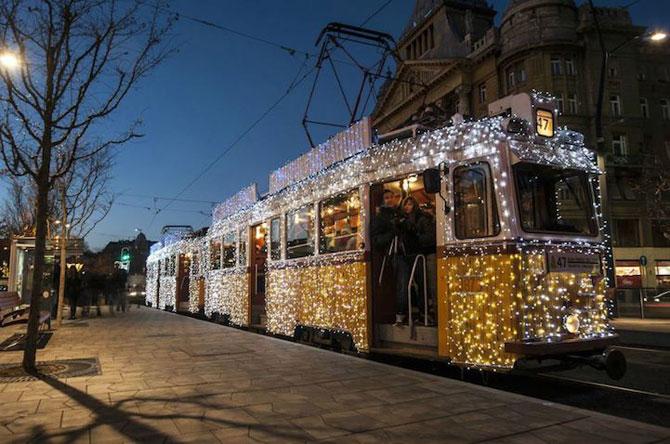 Superbele trenuri cu LED-uri de la Budapesta - Poza 8