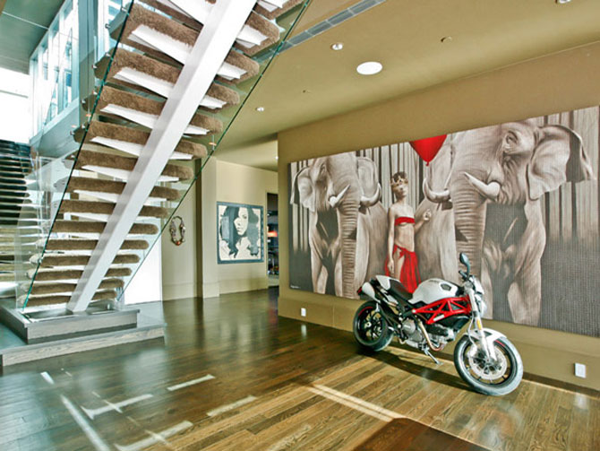Lux a la Lenny Kravitz: triplex in Soho, New York - Poza 1