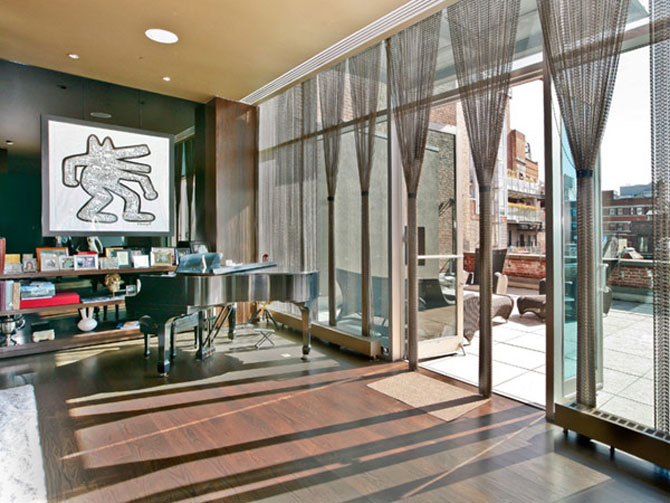Lux a la Lenny Kravitz: triplex in Soho, New York - Poza 2