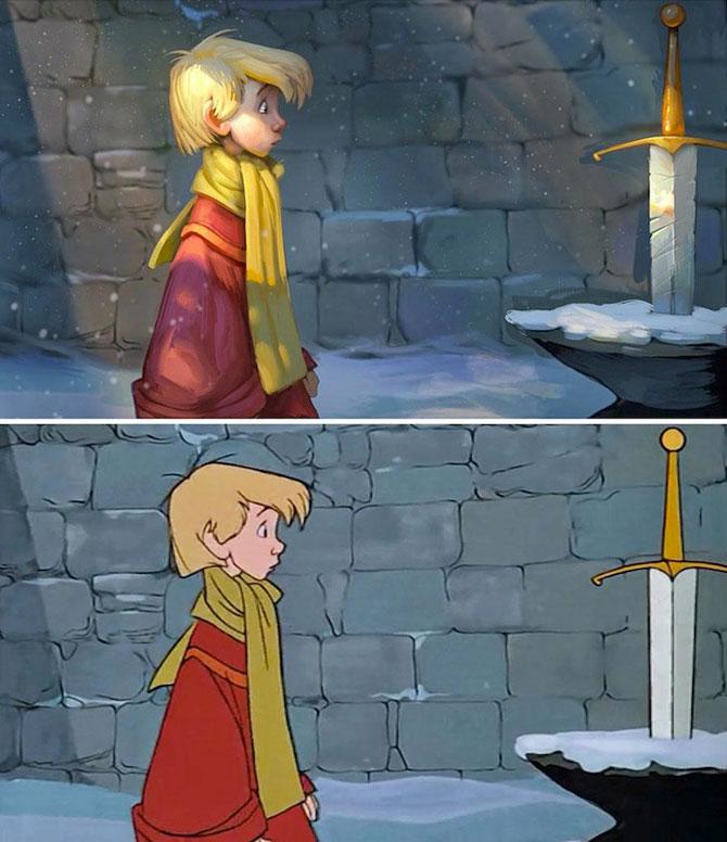 Filme clasice Disney pictate in 3D de Tyson Murphy - Poza 1