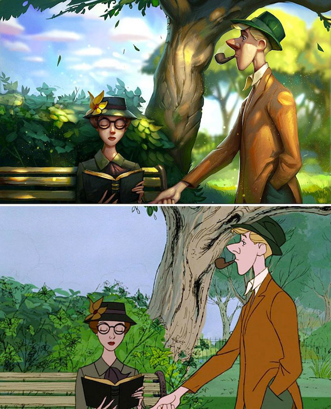 Filme clasice Disney pictate in 3D de Tyson Murphy - Poza 2
