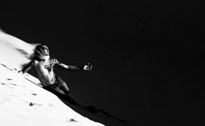 Unde de nisip in alb si negru, de Evelina Pentcheva - Poza 7