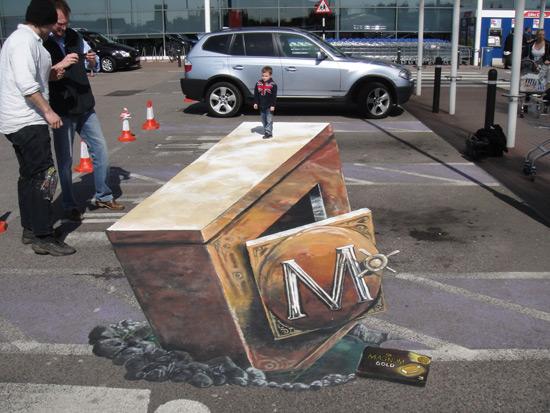 25 de desene 3D pe asfalt - Poza 24