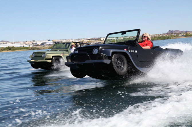 Cel mai rapid vehicul amfibie: Watercar Panther - Poza 5