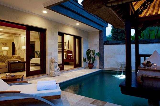 Lux regesc in statiunea Viceroy, Bali