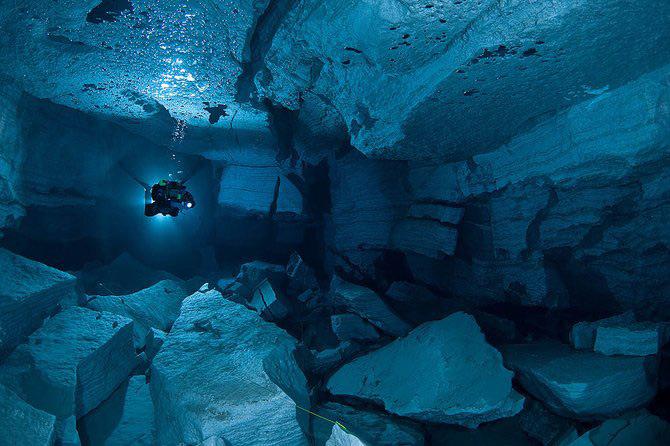 Scufundari in pestera cristalelor cu Viktor Lyagushkin - Poza 14