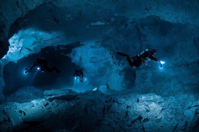 Scufundari in pestera cristalelor cu Viktor Lyagushkin - Poza 30
