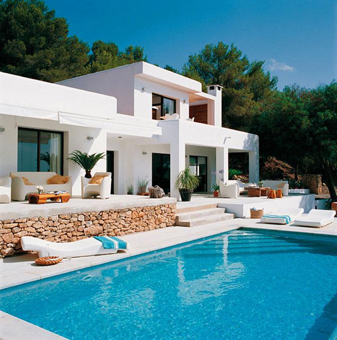Palatul imaculat de pe coasta spaniola: Blanco de Ibiza - Poza 1