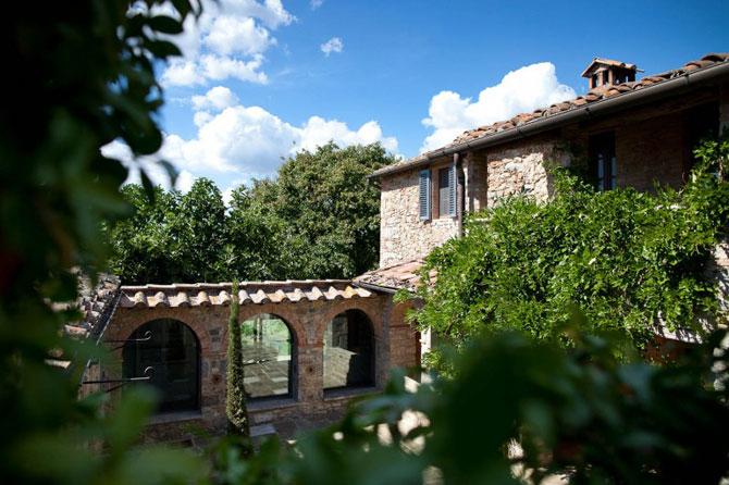 Vila toscana intinerita de arhitecti - Poza 3