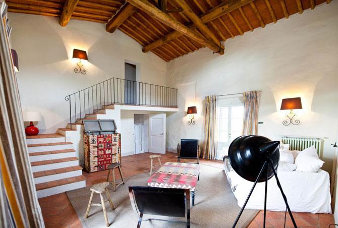 Vila toscana intinerita de arhitecti - Poza 10