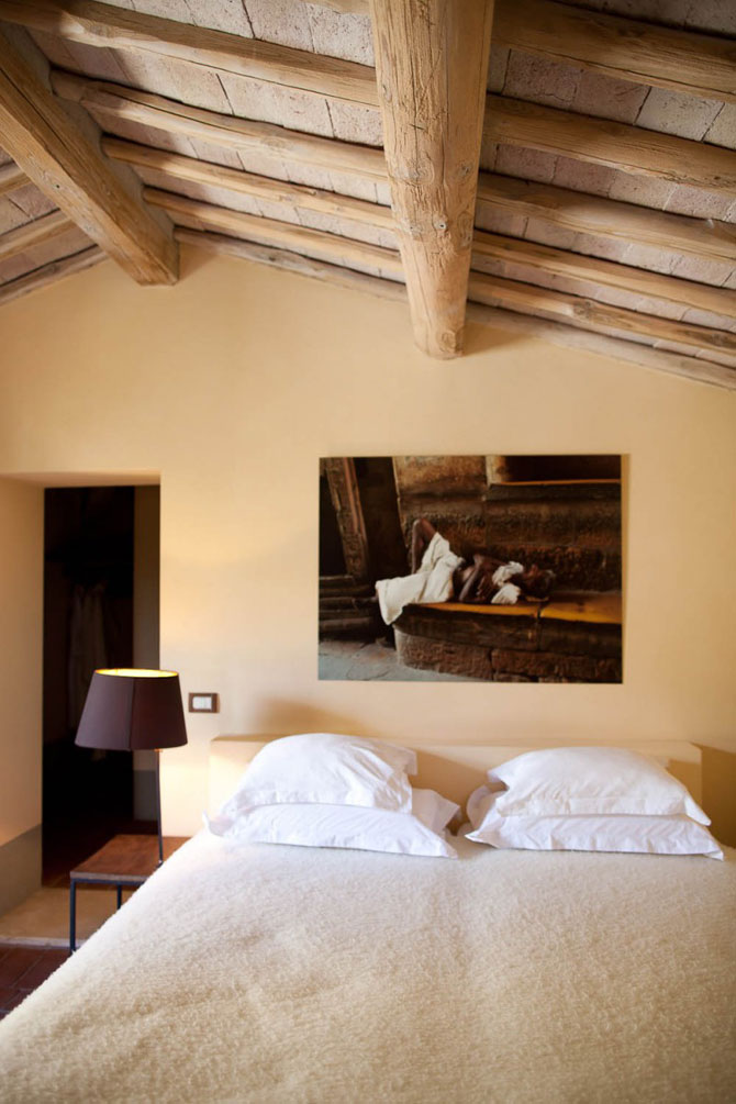 Vila toscana intinerita de arhitecti - Poza 11
