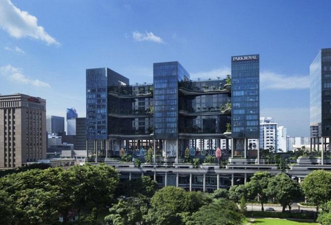 Park Royal Hotel, cel mai verde hotel, la Singapore - Poza 2