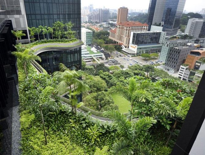 Park Royal Hotel, cel mai verde hotel, la Singapore - Poza 4