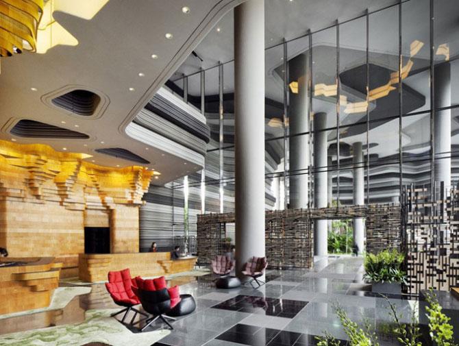 Park Royal Hotel, cel mai verde hotel, la Singapore - Poza 5