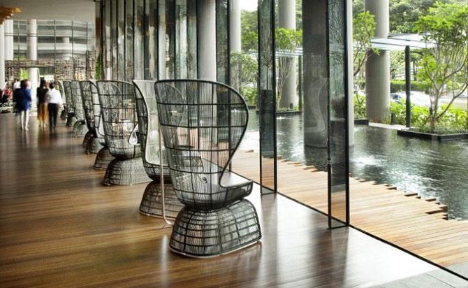 Park Royal Hotel, cel mai verde hotel, la Singapore - Poza 7