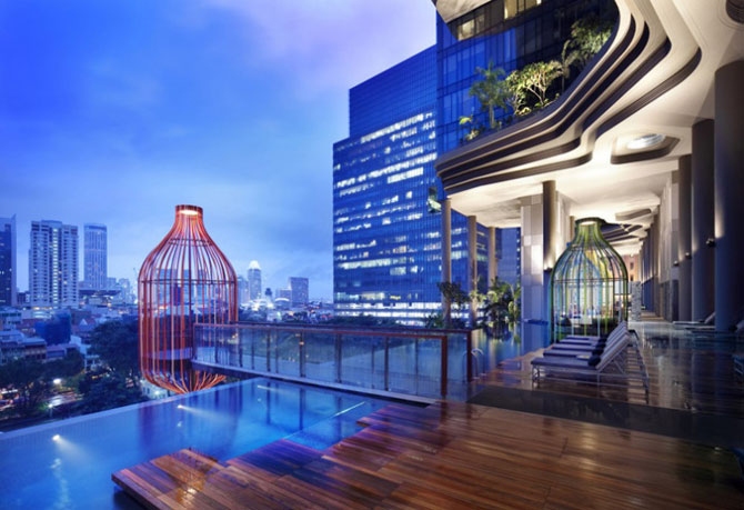 Park Royal Hotel, cel mai verde hotel, la Singapore - Poza 8