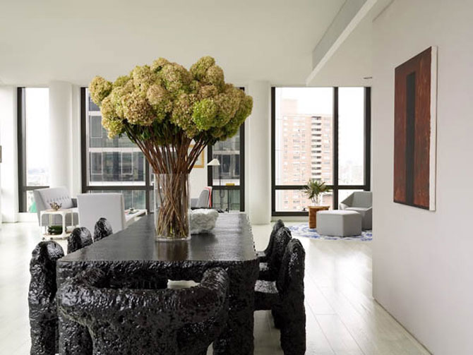 Relaxare prin design, in Warren Apartment, New York - Poza 1