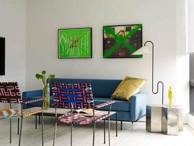 Relaxare prin design, in Warren Apartment, New York - Poza 8