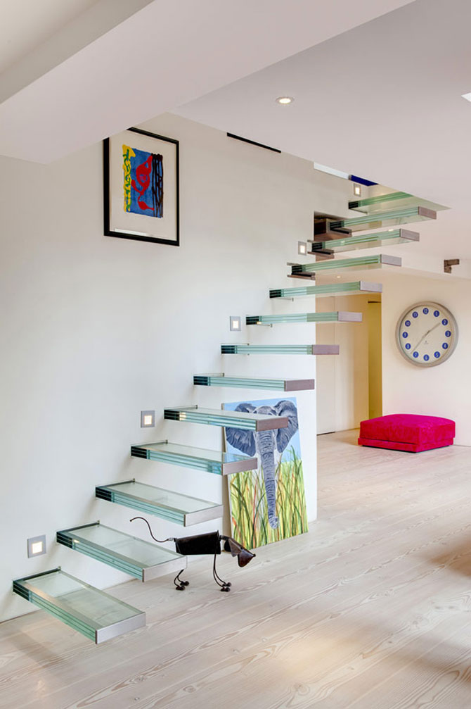 Duplexul din capela, in Notting Hill, Londra - Poza 5
