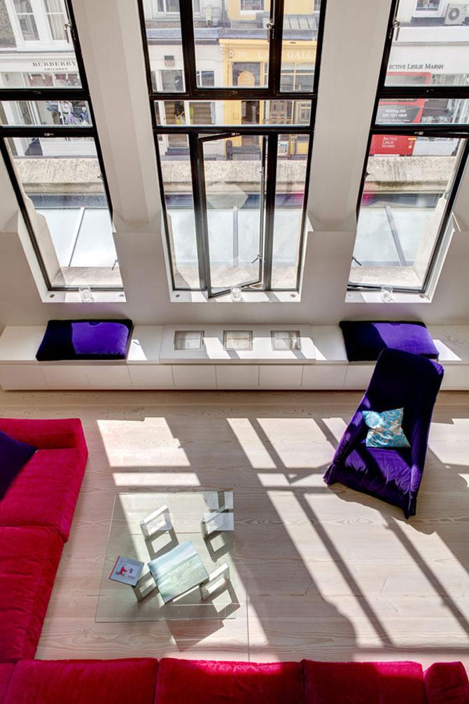 Duplexul din capela, in Notting Hill, Londra - Poza 6