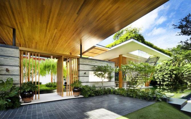 Casa salciilor din Singapore, de Guz Architects - Poza 3