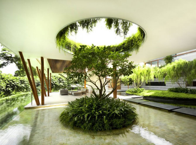 Casa salciilor din Singapore, de Guz Architects - Poza 6
