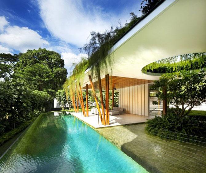 Casa salciilor din Singapore, de Guz Architects - Poza 8