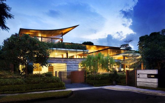 Casa salciilor din Singapore, de Guz Architects - Poza 15