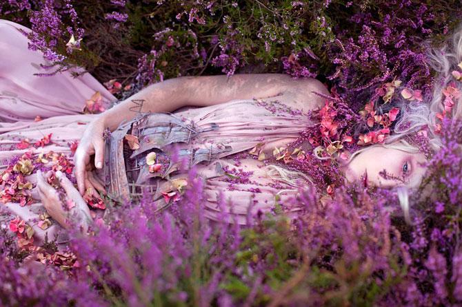 Incredibile portrete din Tara Minunilor, de Kirsty Mitchell - Poza 3