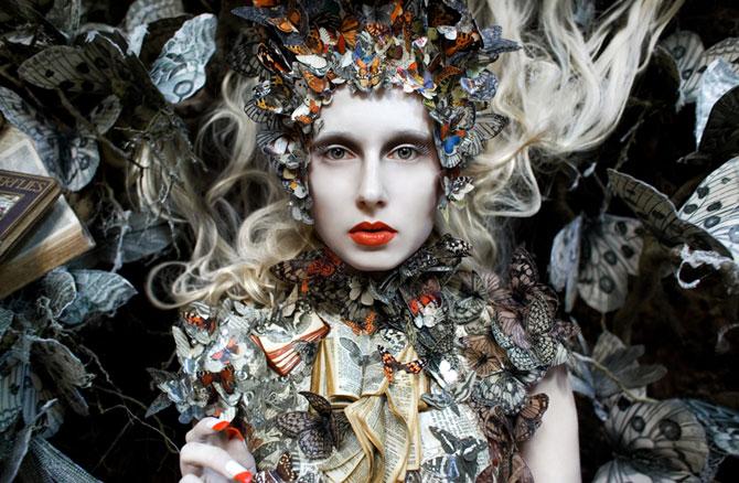 Incredibile portrete din Tara Minunilor, de Kirsty Mitchell - Poza 4