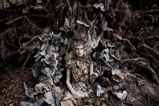 Incredibile portrete din Tara Minunilor, de Kirsty Mitchell - Poza 5