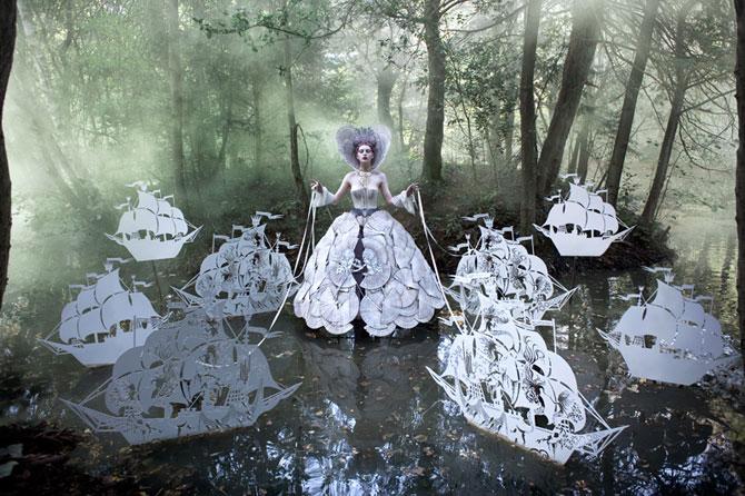 Incredibile portrete din Tara Minunilor, de Kirsty Mitchell - Poza 9