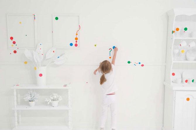 Cum decoreaza copiii o incapere de muzeu - Poza 3