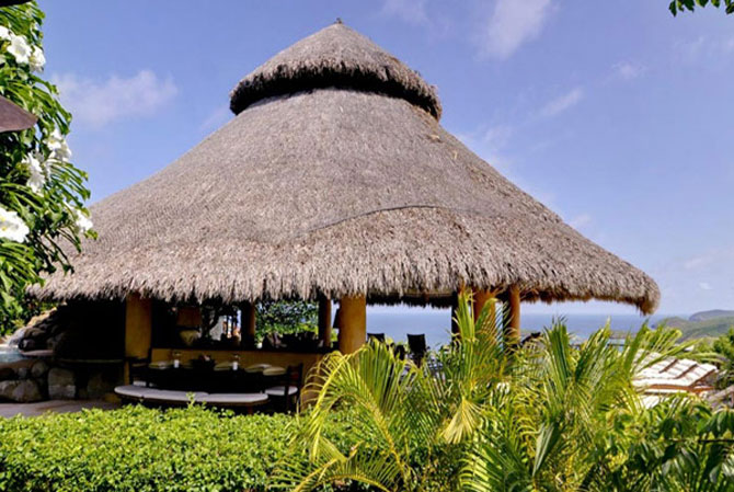 Vis cu baldachin in Grenadine: complexul Yemanja