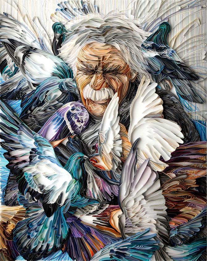 Arta multicolora din hartie, de Yulia Brodskaya - Poza 2