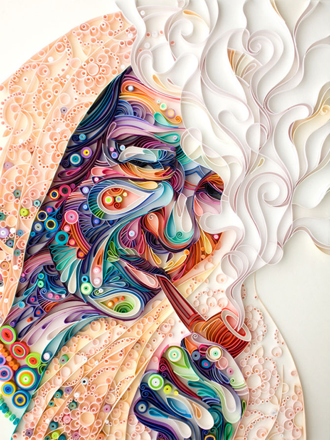 Arta multicolora din hartie, de Yulia Brodskaya - Poza 4