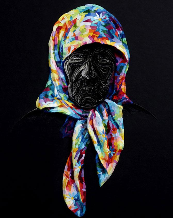 Arta multicolora din hartie, de Yulia Brodskaya - Poza 6