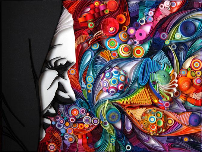 Arta multicolora din hartie, de Yulia Brodskaya - Poza 7