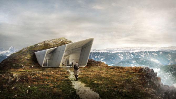 Muzeu in inima muntilor Italiei, de Zaha Hadid - Poza 2